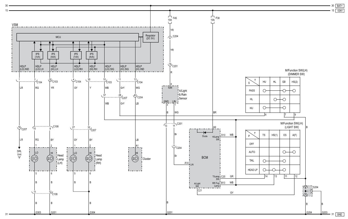 лампы маяк 24 v 75/70w схема подсоединение