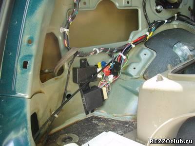 Кнопка открытия багажника.
