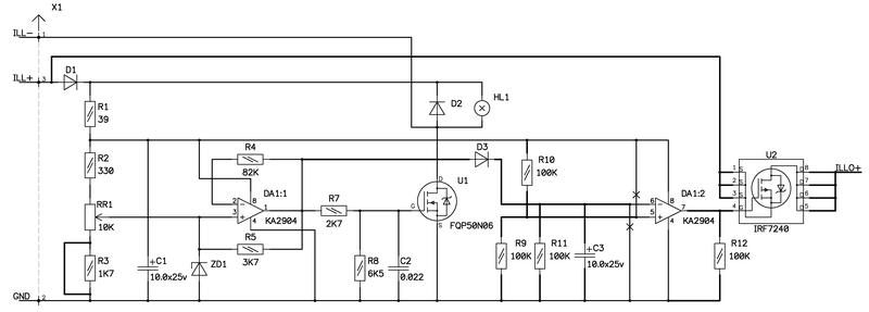 И что мы видим, схема представляет собой ШИМ регулятор, выполненный на...