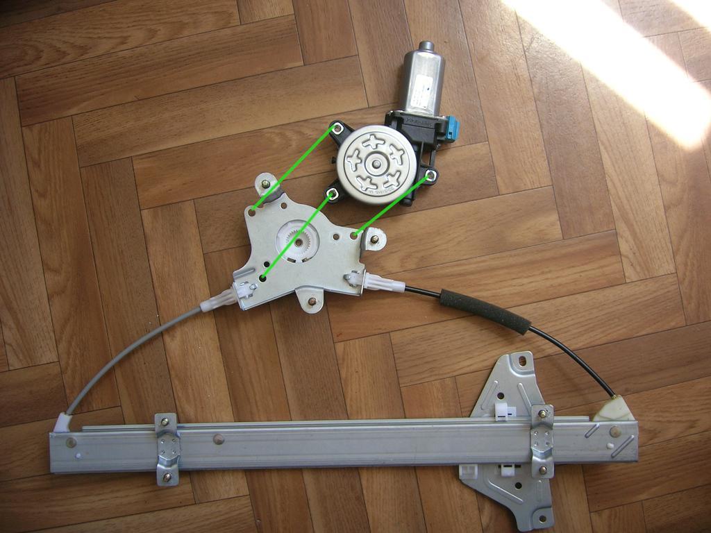 схема подключения стеклоподъемников с доводчиком